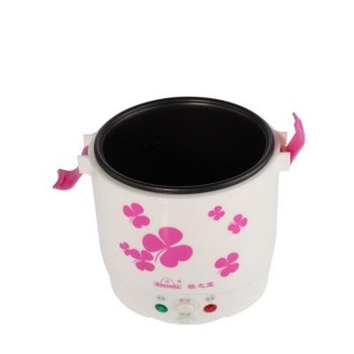 欧之宝 韩式一体煲迷你电饭煲 粉红花 1L产品图片4