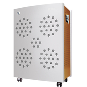 纽贝尔 NBE-XWZ小王子空气净化器家用双负离子除甲醛苯pm2.5除雾霾办公室除烟尘 银色