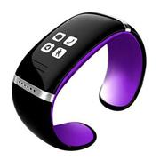 爱随 W9智能手镯手环触屏智能蓝牙腕表运动穿戴设备免提通话安卓伴侣低辐射 紫色