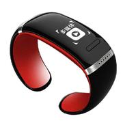 爱随 W9智能手镯手环触屏智能蓝牙腕表运动穿戴设备免提通话安卓伴侣低辐射 红色