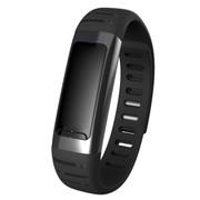 喜木 R8智能手环 智能运动健康计步器 智能穿戴蓝牙手表 健康监测智能腕带 优雅黑