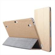 sunreed 华为Mediapad FHD/LINK 平板电脑保护套 华为10.1寸皮套 土豪金色