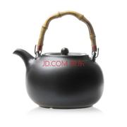 其他 【仟古堂】黑陶壶提梁陶壶电热电磁双用烧水壶防干烧紫砂茶壶