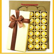 其他 费列罗巧克力礼盒 18粒金装高档礼盒