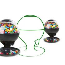 其他 趣玩礼品 圣诞糖果机 创意欧式桌面自动感应扭糖机 吃货 糖果机产品图片主图