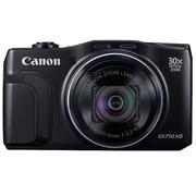 佳能 PowerShot SX710 HS 数码相机 黑色(2030万像素 30倍光变 25mm超广角)