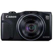 佳能 PowerShot SX710 HS 数码相机 黑色(2030万像素 30倍光变 25mm超广角)产品图片主图