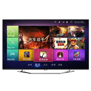 TCL L49E6700A-UD 49英寸3D智能LED液晶电视(黑色)