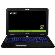 微星 WT60 2OK-1041CN 15.6英寸游戏本(i7-4810MQ/16G/1T+256G/K3100M 4G独显/Win7/4K屏)