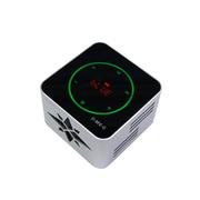 apphome 蓝牙音箱金属无线手机电脑迷你NFC收音机插卡小音箱 银色