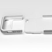 叛逆者(panizhe) 背夹电池iPhone5/5s专用2500mAh移动电源苹果手机壳保护套外置I522 白色