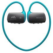 索尼 NWZ-WS615/L   头戴式运动型蓝牙MP3播放器 新一代穿戴设备 运动防水 16G 蓝色