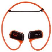 索尼 NWZ-W273S/DM 防滴溅运动式MP3 游泳时可佩戴的Walkman 橙色