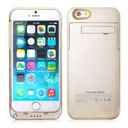 weekone iPhone6背夹电池 苹果6plus移动电源 手机充电宝 4.7寸I6 3200mAh土豪金