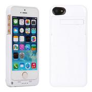 weekone iPhone6背夹电池 苹果6plus移动电源 手机充电宝 4.7寸I6 3200mAh白色