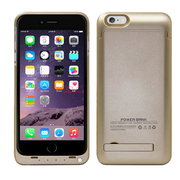 weekone iPhone6背夹电池 苹果6plus移动电源 手机充电宝 5.5寸6plus 4800mA土豪金