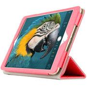 虎克 诺基亚N1皮套 保护套n1平板电脑7.9寸NOKIA专用超薄三折支撑套 超薄款-粉蜜红