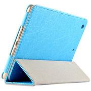 虎克 诺基亚N1皮套 保护套n1平板电脑7.9寸NOKIA专用超薄三折支撑套 超薄款-宁静蓝