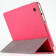 虎克 诺基亚N1皮套 保护套n1平板电脑7.9寸NOKIA专用超薄三折支撑套 甲骨文-蜜粉红