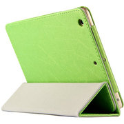 虎克 诺基亚N1皮套 保护套n1平板电脑7.9寸NOKIA专用超薄三折支撑套 超薄款-苹果绿