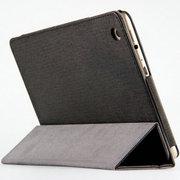 虎克 诺基亚N1皮套 保护套n1平板电脑7.9寸NOKIA专用超薄三折支撑套 甲骨文-星夜黑