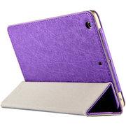 虎克 诺基亚N1皮套 保护套n1平板电脑7.9寸NOKIA专用超薄三折支撑套 甲骨文-高贵紫