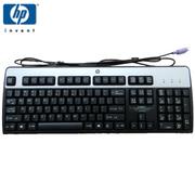 惠普 【】SK-2880 PS/2经典银黑高端商务 办公 台式机键盘