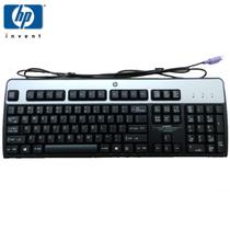惠普 【】SK-2880 PS/2经典银黑高端商务 办公 台式机键盘产品图片主图
