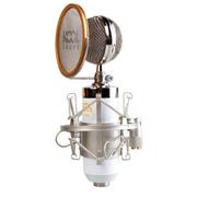 KOOL 麦克风 有线 电容麦克风 电脑K歌话筒 小奶瓶yy录音设备 白色
