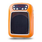 WSHDZ 山禾扩音器 教学用大功率腰挂 教师教学专用扩音机 小蜜蜂扩音器 活力橙