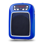 WSHDZ 山禾扩音器 教学用大功率腰挂 教师教学专用扩音机 小蜜蜂扩音器 深海蓝