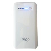 aigo 无线云存储/移动电源/无线WIFI/充电宝/云电宝 RS180 7800毫安 土豪金 官方标配+爱国者L0051.2米 苹果小