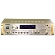 现代 AV-1000 家庭影院 家用式音箱 AV功放机 (金色)