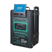 托瓦 单8寸/12寸广场舞音箱 拉杆音箱 户外音响 手拉式音响音箱 一体机 680TV  7寸显示屏 一个领夹