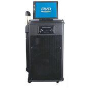 托瓦 单8寸/12寸广场舞音箱 拉杆音箱 户外音响 手拉式音响音箱 一体机 1214TV 13.5寸显示屏 一个耳迈