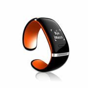 喜木 手环 智能蓝牙手表 电容触摸屏智能通话运动手环手镯 IOS/安卓系统通用智能穿戴 活力橙