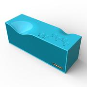 毕亚兹 BIAZE 无线蓝牙智能音箱4.0/2000mA 免提通话 皇家蓝