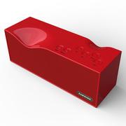 毕亚兹 BIAZE 无线蓝牙智能音箱4.0/2000mA 免提通话 烈焰红