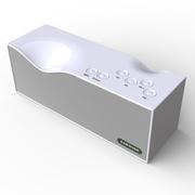 毕亚兹 BIAZE 无线蓝牙智能音箱4.0/2000mA 免提通话 典雅白