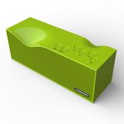 毕亚兹 BIAZE 无线蓝牙智能音箱4.0/2000mA 免提通话 春草绿