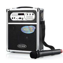 爱歌 无线音箱户外音响便携式广场舞低音炮大功率扩音器音乐播放产品图片主图