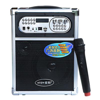 爱歌 无线音箱户外音响便携式广场舞低音炮大功率扩音器音乐播放产品图片3