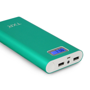 TXR 80三星苹果iphone6小米移动电源 20000毫安通用充电宝 通用冲50000台 青草绿 标准配置