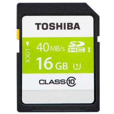 东芝 高速SDHC存储卡 16G Class10-40MB/s产品图片1