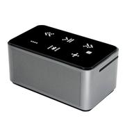 咔哟 钻石Diamond4.0蓝牙音箱 低音炮NFC自动配对蓝牙音响带锂电触屏按键 银色