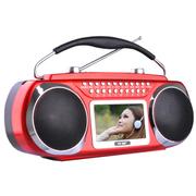先科 手提式便携户外教学音箱 广场舞大功率多功能拉杆视频扩音器音响CDA-595