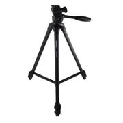 金钟 EX-330Q 铝合金三脚架云台套装 黑色 适合拍摄人像和业余活动照片