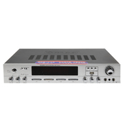 先科 AV-2019U家庭KTV影院功放 USB输入 五声道输出 双话筒输入特惠