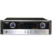 现代 KA-450 家庭影院 家用式音箱 AV功放机 (银色)