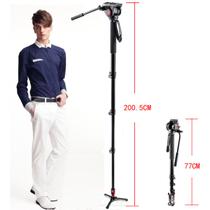 曼富图 MVM500A 轻型液压摄像独脚架  摄影摄像两用 可竖拍产品图片主图